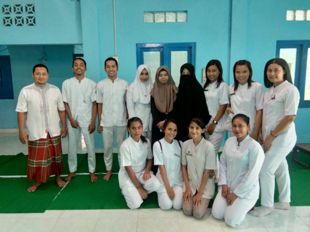 Praktik Mahasiswa Stikes Wirahusada Yogyakarta di Tempat Kami
