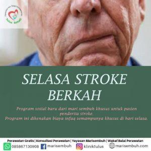selasa berkah stroke